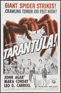 "Movie Posters:Science Fiction, Tarantula (Universal International, R-1964). One Sheet (27"" X 41"").Science Fiction.. ..."
