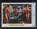 """Movie Posters:Science Fiction, Forbidden Planet (MGM, 1956). CGC Graded Lobby Card (11"""" X 14""""). Science Fiction.. ..."""