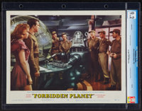 """Forbidden Planet (MGM, 1956). CGC Graded Lobby Card (11"""" X 14""""). Science Fiction"""