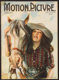 """Movie Posters:Miscellaneous, Motion Picture Magazine (Brewster Publication, January 1922). Magazine (114 Pages, 8.5"""" X 11.5""""). Miscellaneous.. ..."""