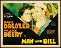 """Movie Posters:Comedy, Min and Bill (MGM, 1930). Title Lobby Card (11"""" X 14""""). Comedy.. ..."""