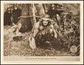 "Movie Posters:Adventure, Tarzan of the Apes (First National, 1918). Lobby Card (11"" X 14"").Adventure.. ..."
