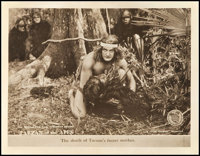 """Tarzan of the Apes (First National, 1918). Lobby Card (11"""" X 14""""). Adventure"""