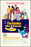 "Movie Posters:Animation, Yellow Submarine (United Artists, 1968). One Sheet (27"" X 41"").Animation.. ..."