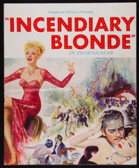 """Incendiary Blonde (Paramount, 1945). Uncut Pressbook (24 Pages, 12.25"""" X 15""""). Musical"""