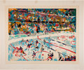 Miscellaneous Collectibles:General, 1972-74 LeRoy Neiman Signed Serigraphs Lot of 2....