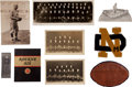 Football Collectibles:Others, 1929 Notre Dame Original Photographs, Memorabilia and More....