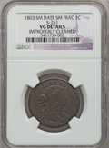 Large Cents, 1803 1C Small Date, Small Fraction--Improperly Cleaned-- NGCDetails. VG. S-251. NGC Census: (7/332). PCGS Population (8/3...