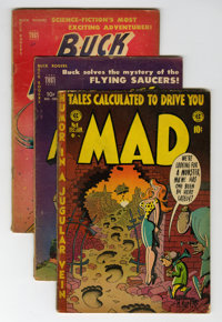 Comic Books - Assorted Golden Age Comics Box Lot (Various, 1940s-'50s) Condition: Average GD+