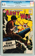 Silver Age (1956-1969):War, Our Army at War #82 (DC, 1959) CGC VF+ 8.5 Off-white to white pages....