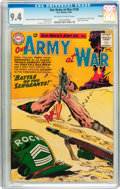 Silver Age (1956-1969):War, Our Army at War #128 Savannah pedigree (DC, 1963) CGC NM 9.4 Off-white to white pages....