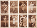 Baseball Cards:Sets, 1931 Metropolitan Studios St. Louis Cardinals Complete Set (30)....