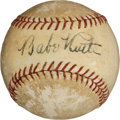 Autographs:Baseballs, Circa 1930 Babe Ruth Single Signed Baseball....