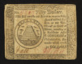 Colonial Notes:Continental Congress Issues, Continental Currency September 26, 1778 $50 Very Fine.. ...