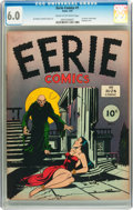 Golden Age (1938-1955):Horror, Eerie #1 (Avon, 1947) CGC FN 6.0 Cream to off-white pages....