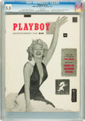 Magazines:Miscellaneous, Playboy #1 (HMH Publishing, 1953) CGC FN- 5.5 White pages....
