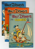 Golden Age (1938-1955):Cartoon Character, Walt Disney's Comics and Stories Group (Dell, 1949-51) Condition:Average FN.... (Total: 10 Comic Books)