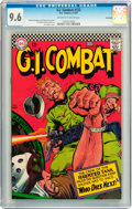 Silver Age (1956-1969):War, G.I. Combat #122 Savannah pedigree (DC, 1967) CGC NM+ 9.6 Off-white to white pages....