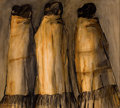 Paintings, R. C. GORMAN (American, 1932-2005). Three Navajo Women. Mixed media on board. 20 x 22 inches (50.8 x 55.9 cm). Signed lo...