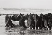 SHIRIN NESHAT (American, b. 1957) Untitled (from Rapture Series), 1999 Gelatin silver, printed later