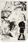 Original Comic Art:Panel Pages, Steve Bissette and John Totleben Swamp Thing #34 page 22Original Art (DC, 1985)....