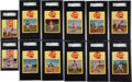 Baseball Cards:Sets, 1969 Kahn's Wieners Near Master Set (25/29) - #1 on the SGC Set Registry!...
