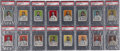 Baseball Cards:Sets, 1910 D322 Tip-Top Bread Pittsburgh Pirates PSA-Graded Partial Set(16/25). ...