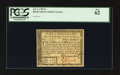 Colonial Notes:Rhode Island, Rhode Island July 2, 1780 $3 PCGS New 62.. ...