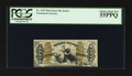 Fractional Currency:Third Issue, Fr. 1370 50¢ Third Issue Justice PCGS Choice About New 55PPQ.. ...