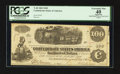 Confederate Notes:1862 Issues, Handwritten Jackson Issuance T40 $100 1862.. ...