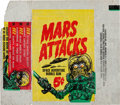"Non-Sport Cards:Sets, 1962 Topps ""Mars Attacks"" 5-Cent Wax Paper Wrapper. ..."