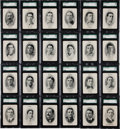 Baseball Cards:Sets, 1906 WG3 Fan Craze National League Playing Cards Complete Set (54) - #2 on the SGC Set Registry! ...