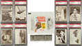 Non-Sport Cards:Sets, 1966 Philadelphia James Bond-Thunderball Complete Set (66) PlusSecret Code Capsule and Wrapper. ...
