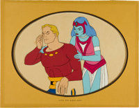 The New Adventures of Flash Gordon Production Cel Animation Art (Filmation, 1979)