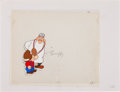 Animation Art:Limited Edition Cel, King Features Anniversary Special Snuffy Smith Animation Production Cel with Clean-Up Drawing Original Art (King Featu... (Total: 2 Original Art)