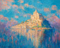 Fine Art - Painting, American:Modern  (1900 1949)  , MARY LOUISE FAIRCHILD (American, 1866-1946). Mont SaintMichel. Oil on canvas . 24 x 30 inches (61.0 x 76.2 cm). Signed...