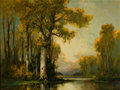 Paintings, A. D. GREER (American, 1904-1998). Autumn Landscape. Oil on canvas . 30 x 40 inches (76.2 x 101.6 cm). Signed lower righ...