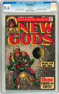 Bronze Age (1970-1979):Superhero, The New Gods #1 Twin Cities pedigree (DC, 1971) CGC NM+ 9.6 Whitepages....