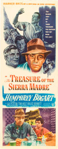 "Movie Posters:Miscellaneous, The Treasure of the Sierra Madre (Warner Brothers, 1948). Insert(14"" X 36"").. ..."