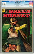 "Golden Age (1938-1955):Miscellaneous, Four Color #496 Green Hornet - Davis Crippen (""D"" Copy) pedigree (Dell, 1953) CGC VF 8.0 Cream to off-white pages...."