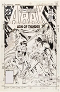 Original Comic Art:Covers, Ernie Colon Arak, Son of Thunder #3 Cover Original Art (DC, 1981)....