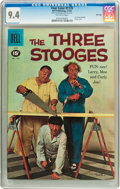 Silver Age (1956-1969):Humor, Four Color #1170 The Three Stooges - File Copy (Dell, 1961) CGC NM 9.4 Off-white pages....