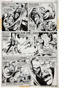 Original Comic Art:Panel Pages, Mike Ploog and Frank Chiaramonte Werewolf by Night #15 page27 Original Art (Marvel, 1974)....