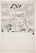 Original Comic Art:Panel Pages, Carmine Infantino and Joe Giella The Flash #137 JSA Page 25Original Art (DC, 1963)....