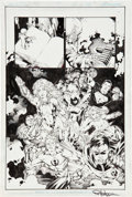 Original Comic Art:Panel Pages, Ed Benes and Rob Hunter Teen Titans #68 page 19 Original Art (DC, 2009)....