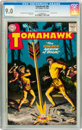 Silver Age (1956-1969):Western, Tomahawk #65 (DC, 1959) CGC VF/NM 9.0 Cream to off-white pages....