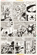 Original Comic Art:Panel Pages, George Perez and Pablo Marcos The Avengers #160 Page 16Original Art (Marvel, 1977)....