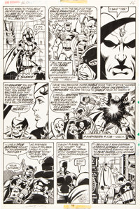 George Perez and Pablo Marcos The Avengers #160 Page 16 Original Art (Marvel, 1977)