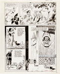 Original Comic Art:Panel Pages, Wally Wood The King of the World The Fall of Atlan page 21Original Art (Les Editions du Triron/Sea Ga...