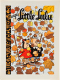 Original Comic Art:Covers, C. C. Beck Marge's Little Lulu #16 Cover Re-CreationOriginal Art (1977)....